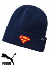 Youths Puma 'Justice League Superman' Beanie Hat (021281-02) x3: £5.95